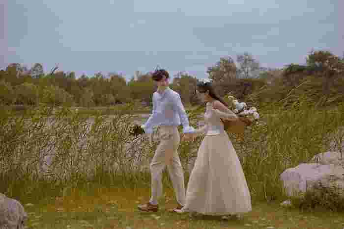 视觉摄影:婚纱照去选片是原片吗 婚纱照选片技巧0